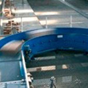 Transportador de Correia em Curva